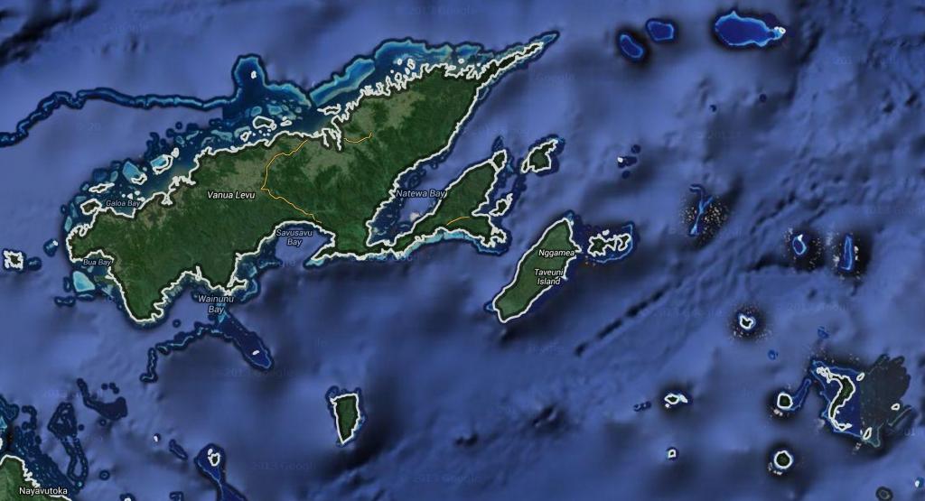 Vanua Levu, Fiji Google Maps